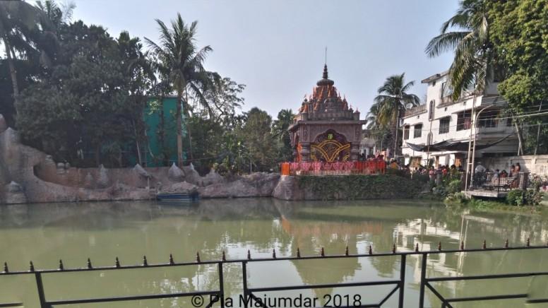 The mandir, main ceremonial ground